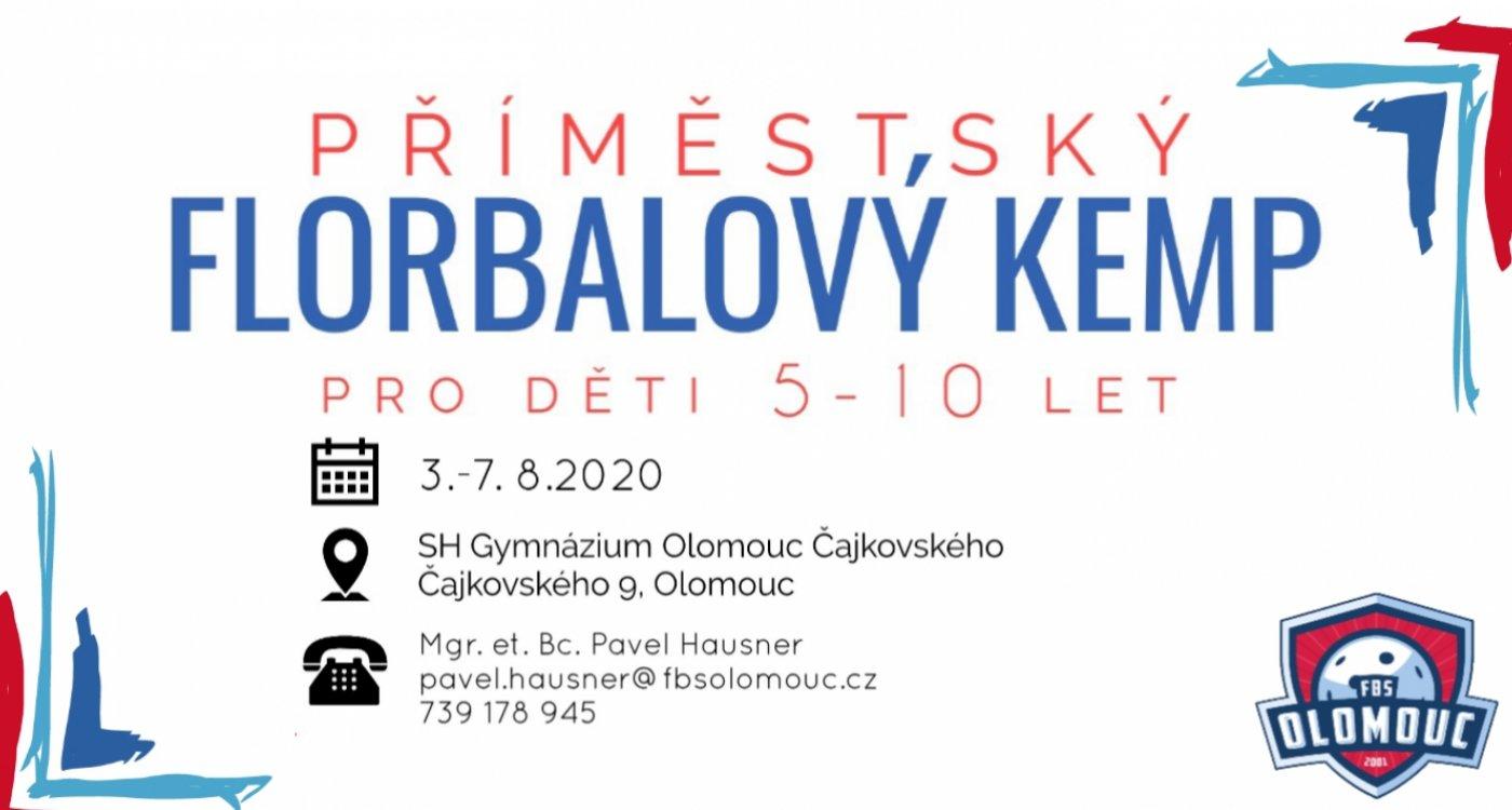 FBS Olomouc pořádá už šestý ročník Příměstského florbalového kempu!