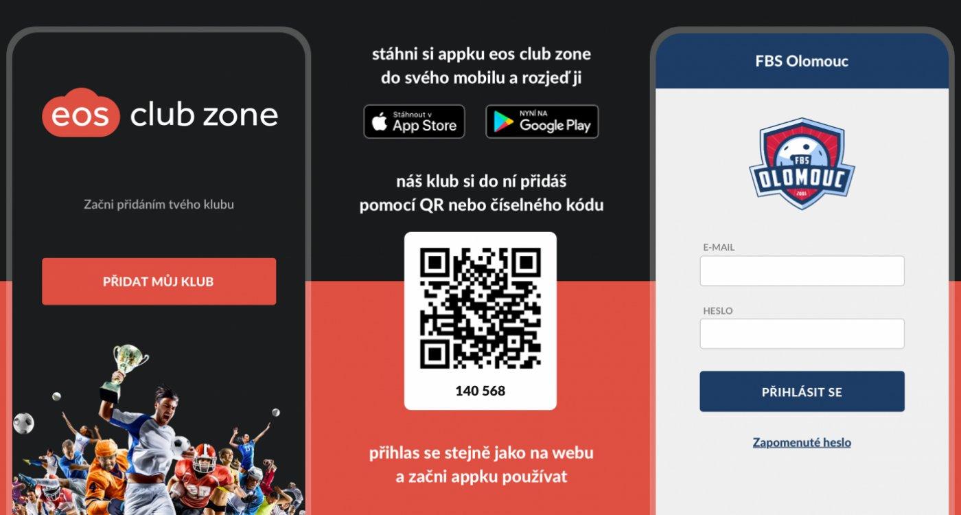Mobilní aplikace k Členské sekci
