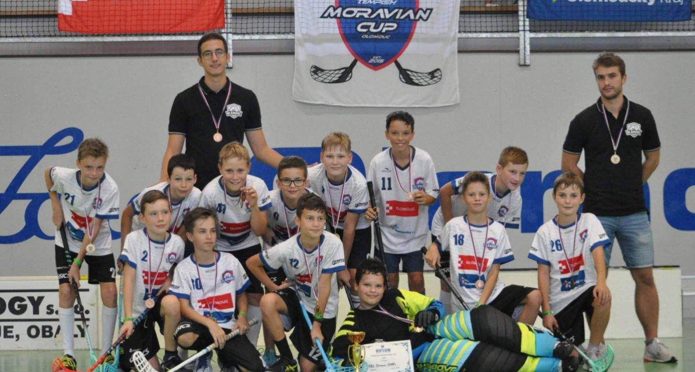 Sportovní a organizační kvalita Moravian Cupu už je jednoznačně na úrovni nejlepších turnajů v republice, říká Daniel Tichý