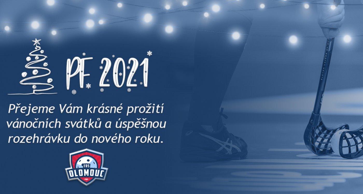 Zástupci FBS Olomouc přejí krásné Vánoce a šťastný rok 2021!