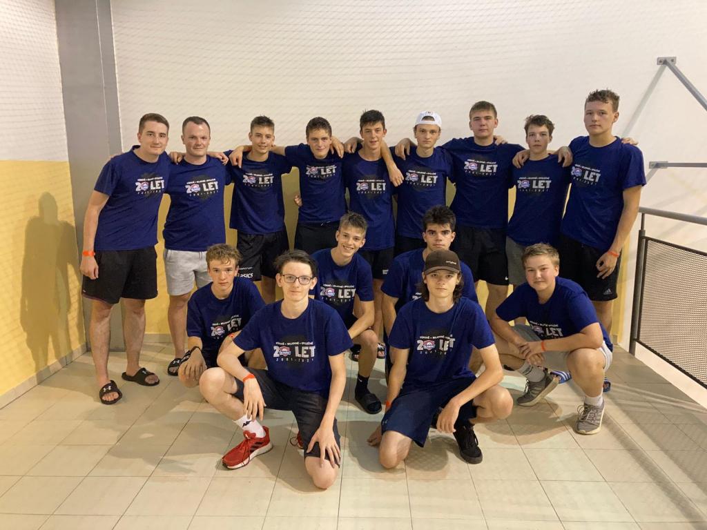 Obrázek 3: Dorostenci na turnaji v Praze.