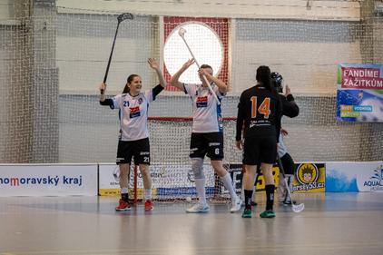 Obrázek 2: Moment z vítězného zápasu proti Bulldogs Brno